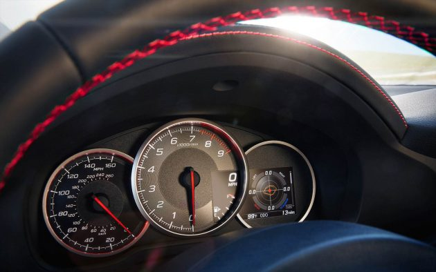2017 Subaru BRZ-info display