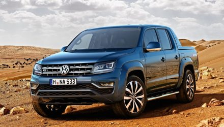 2017 Volkswagen Amarok revealed, powerful new V6 TDI option
