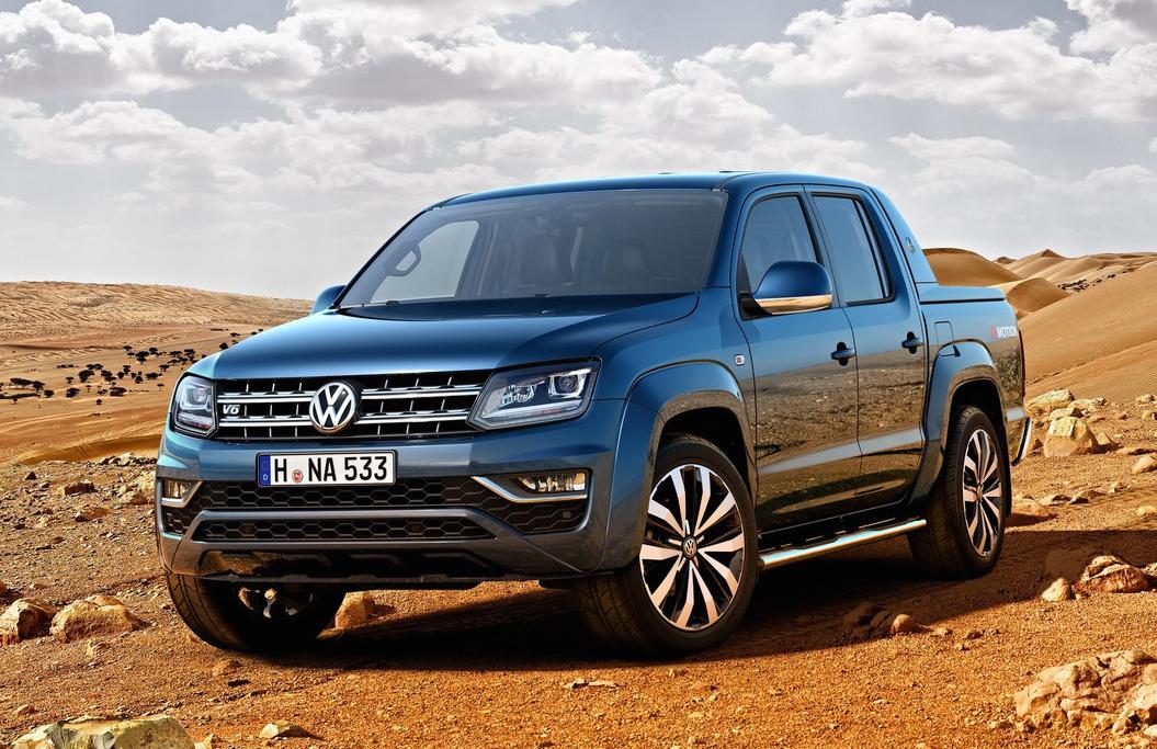 2017 Volkswagen Amarok Revealed Powerful New V6 Tdi