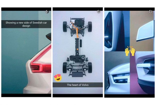 2017 Volvo XC40 concept-Snapchat teasers