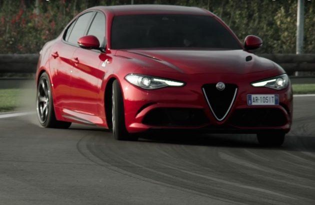 Alfa Romeo Giulia QV-drift