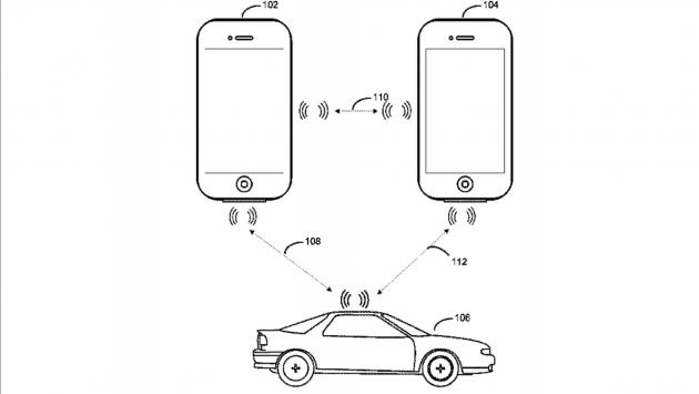 Apple car key patent
