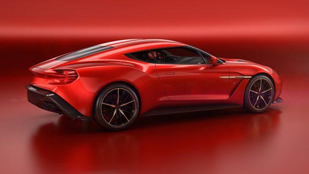 Aston Martin Vanquish Zagato-back