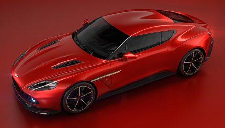 Stunning Aston Martin Vanquish Zagato unveiled