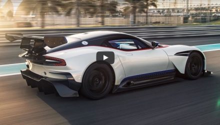 New Top Gear trailer confirms Aston Martin Vulcan test (video)