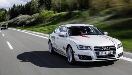 Special Audi A7 showcases human-like auto pilot tech (video)