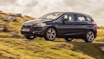 BMW 2 Series Active Tourer debuts new eAxle tech, powertrain from i8