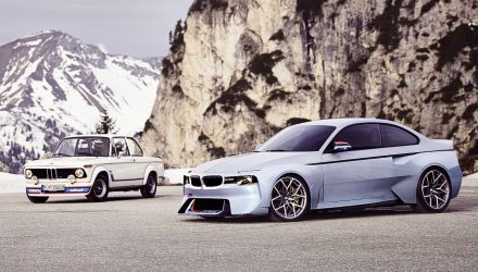 BMW 2002 Hommage concept pays tribute to original 2002 turbo