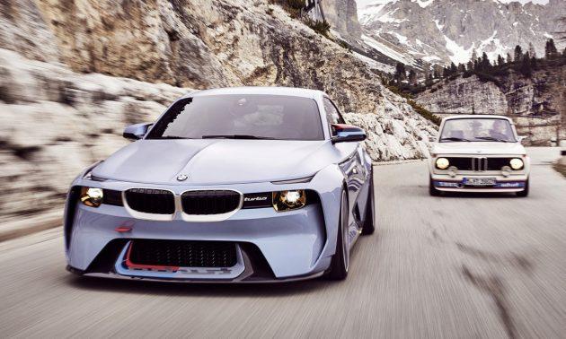 BMW 2002 Hommage concept-headlights