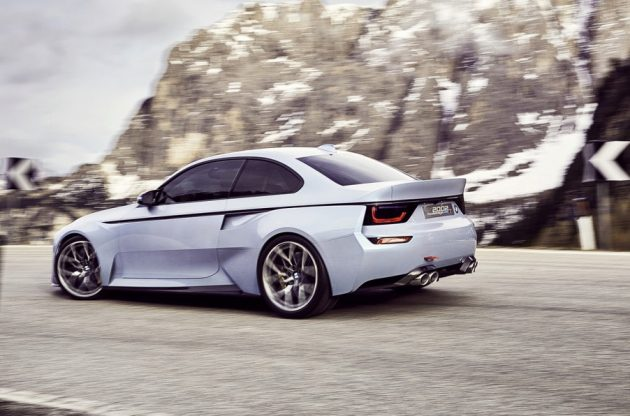 BMW 2002 Hommage concept-rear