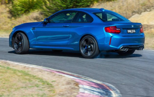 BMW M2-drifting