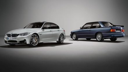 BMW M3 30 Jahre edition celebrates M3 30th birthday