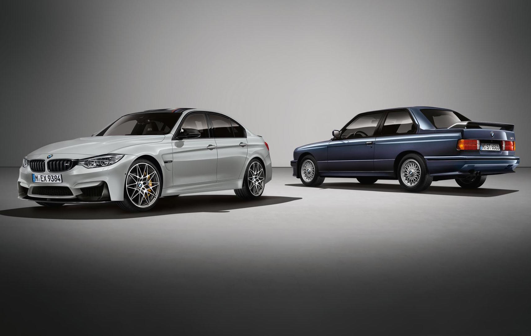 bmw m3 30 jahre edition celebrates m3 30th birthday performancedrive. Black Bedroom Furniture Sets. Home Design Ideas