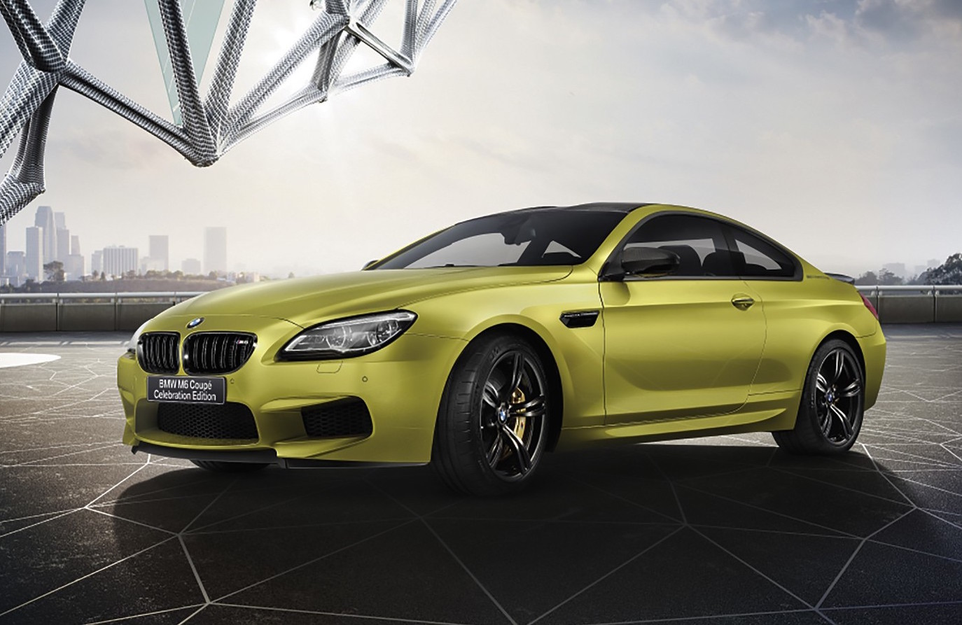 bmw m6 celebration edition announced in japan performancedrive. Black Bedroom Furniture Sets. Home Design Ideas
