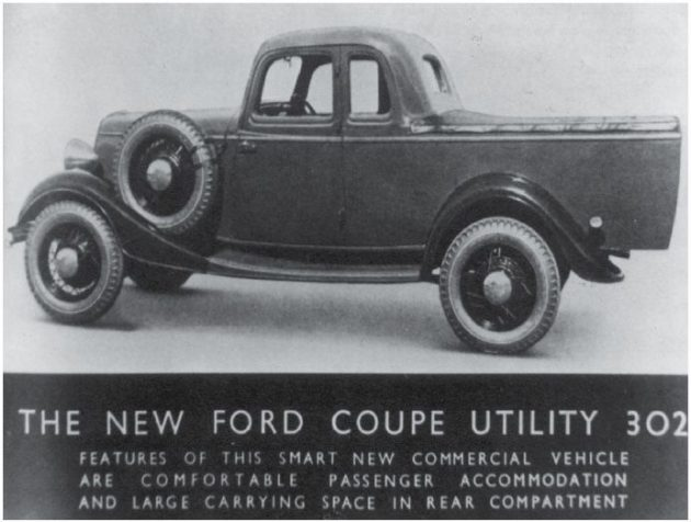 First Ford ute