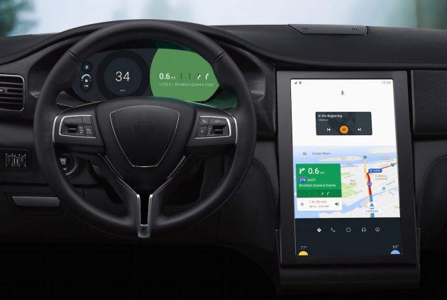 Google Android N-Maserati