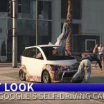 Video: Google car edited into Grand Theft Auto V