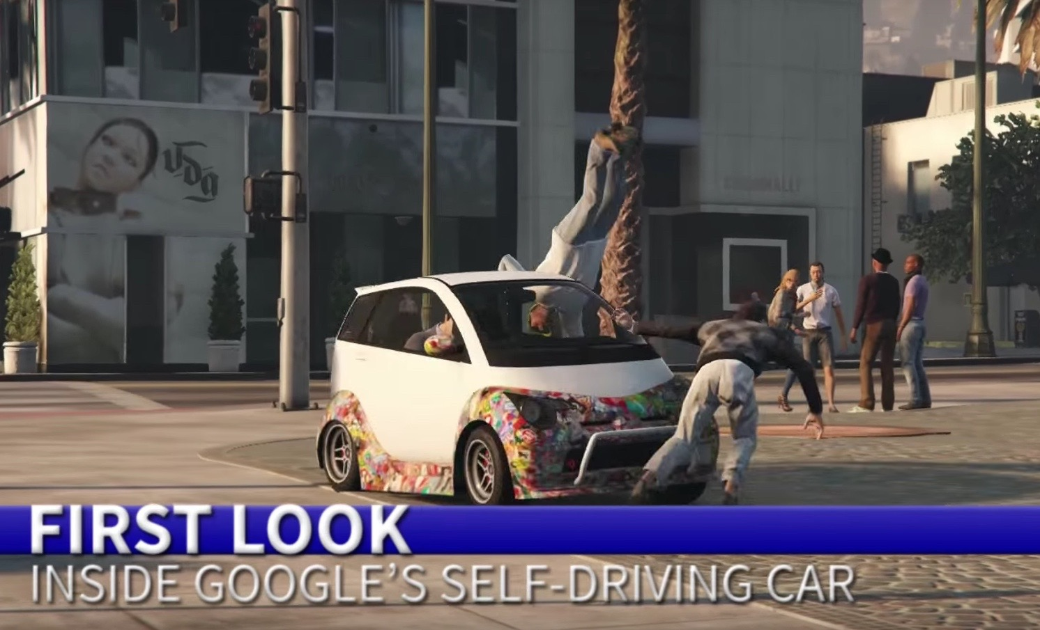 Google Car In Gta V