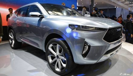 Haval HR-02 & HB-02 concepts preview future SUVs