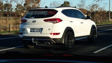 2016 Hyundai Tucson SR sports version spotted