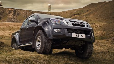 Isuzu D-Max AT35 Arctic off-road special introduced in the UK