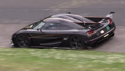 Koenigsegg prepares to take down Nurburgring lap record (video)