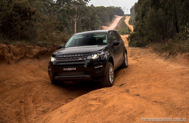 Land Rover Discovery Sport TD4 SE-wheel travel