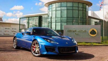Lotus Evora 400 Hethel special edition celebrates factory's 50th