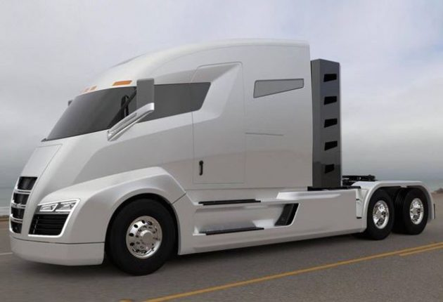 Nikola One Electric Truck With Turbine Is The Tesla Of Trucks Performancedrive
