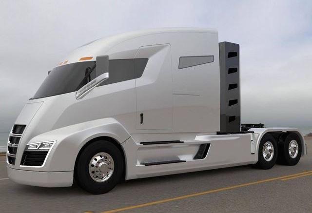 Nikola One electric truck with turbine is the Tesla of ...