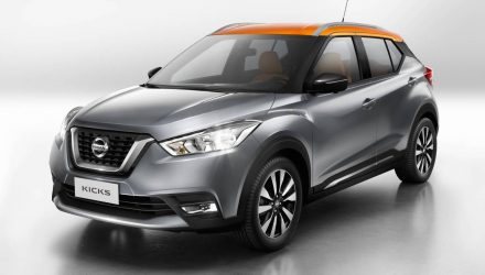 Nissan Kicks production version revealed, new global compact SUV