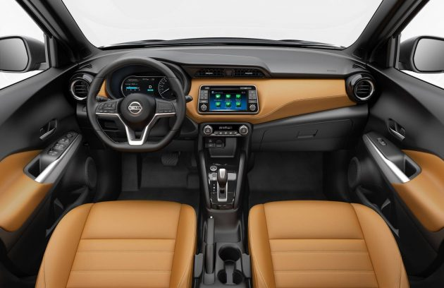 Nissan Kicks-interior