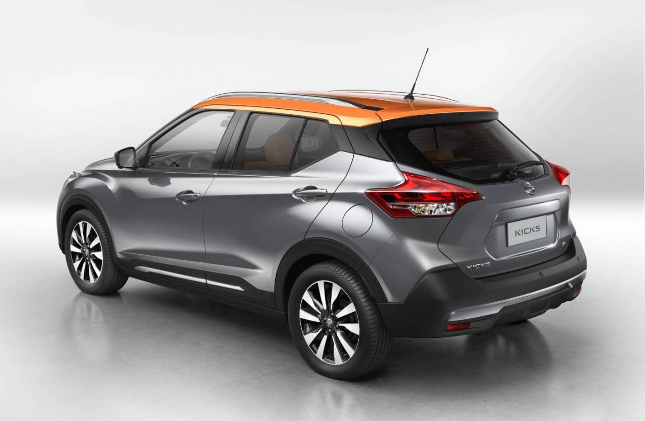 nissan kicks production version revealed new global compact suv performancedrive. Black Bedroom Furniture Sets. Home Design Ideas