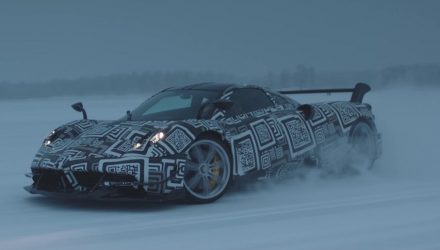 Video: Pagani Huayra BC uses bespoke Bosch stability control