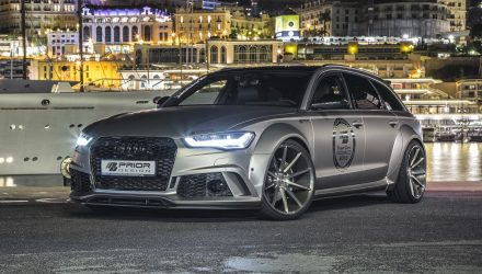 Prior Design creates wicked wide-body Audi A6 Avant, tunes 3.0 TDI & 4.0 TFSI