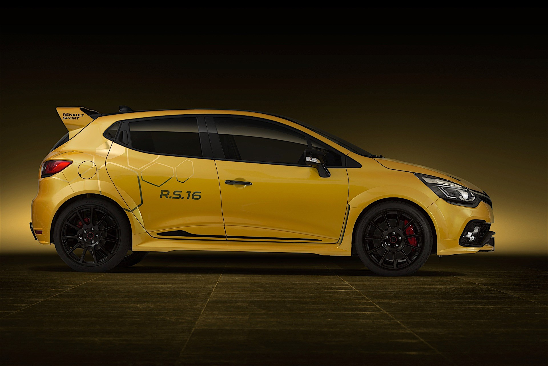renault clio r s 16 concept gets megane 275 engine conversion performancedrive. Black Bedroom Furniture Sets. Home Design Ideas