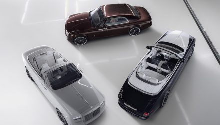 Current Rolls-Royce Phantom goes out with a bang; the Zenith Collection