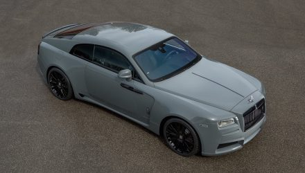 Spofec Rolls-Royce Wraith shows of the aftermarket potential