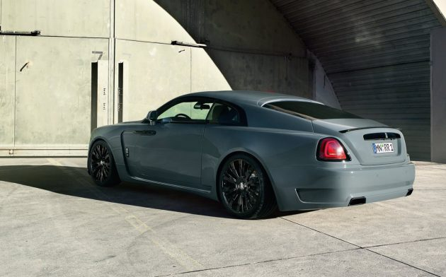Spofec Rolls-Royce Wraith-rear