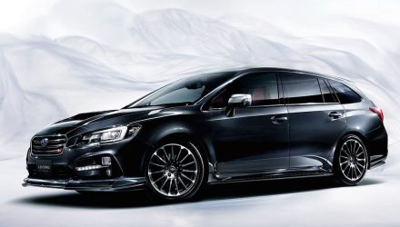 Subaru Levorg STI Sport revealed as new hotted up wagon