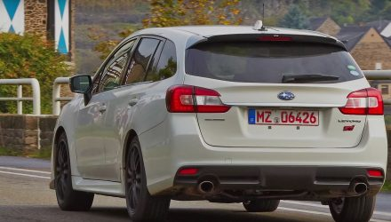 Subaru Levorg STI confirmed, likely JDM only (video)