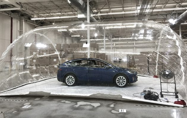Tesla Model X Bioweapon Defense experiment