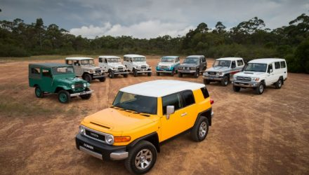 Toyota FJ Cruiser off the market in Australia in August