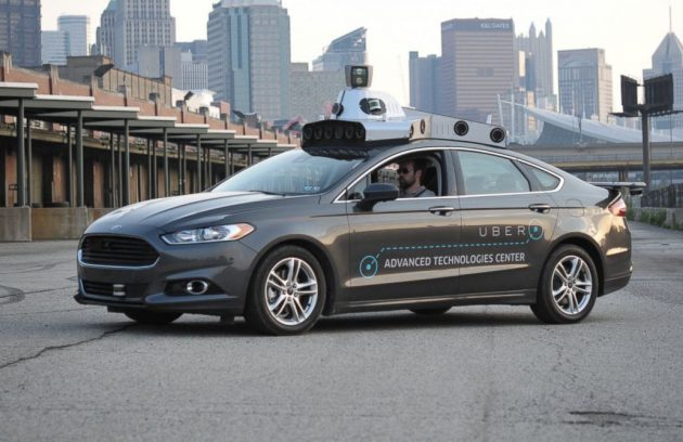 Uber Ford Fusion autonomous