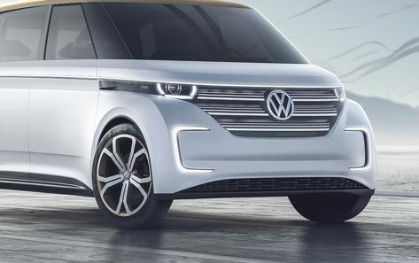Volkswgen BUDD-e concept-grille