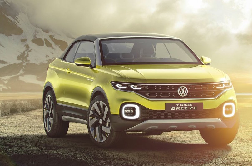 volkswagen polo suv 2018. brilliant polo volkswagen tcross breeze concept in volkswagen polo suv 2018