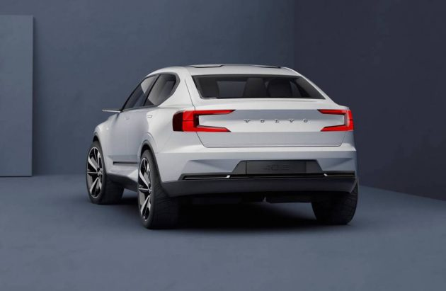 Volvo Concept 40 sedan-rear