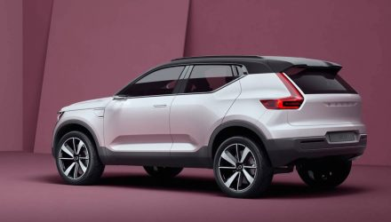 Volvo Concept 40 revealed, previews 2018 XC40 SUV & S40 sedan