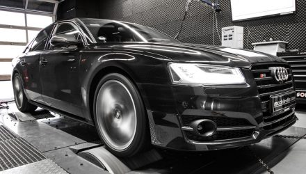 New Audi S8 tuned to nearly 800hp by mcchip-dkr