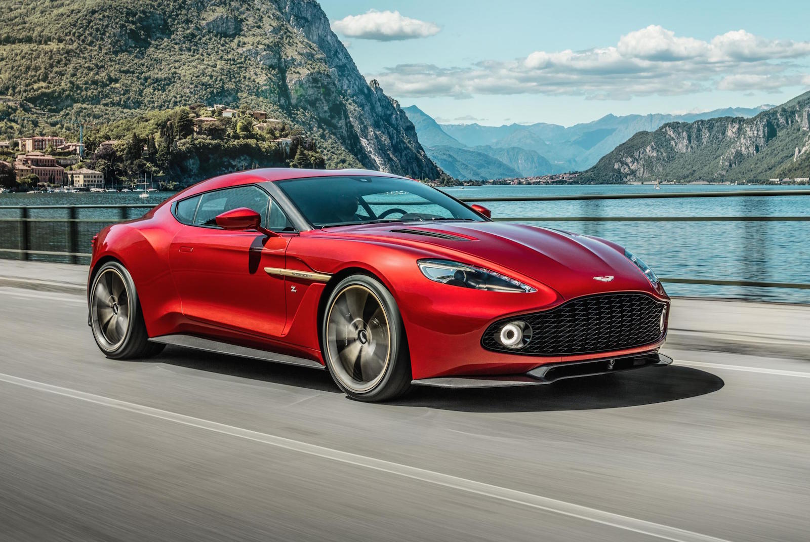 aston martin vanquish zagato production car revealed performancedrive